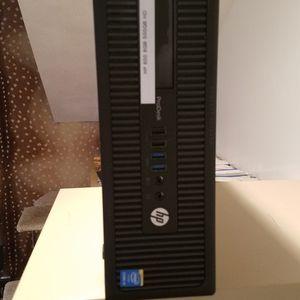 HP ProDesk 600 Computer Intel I3, 3.40 GHZ, 8 GB RAM,500 GB HD,10 USB,WIN10 for Sale in Woodbury, NY