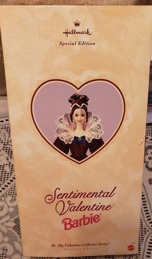 Sentimental Valentine Barbie for Sale in Maple Grove, MN
