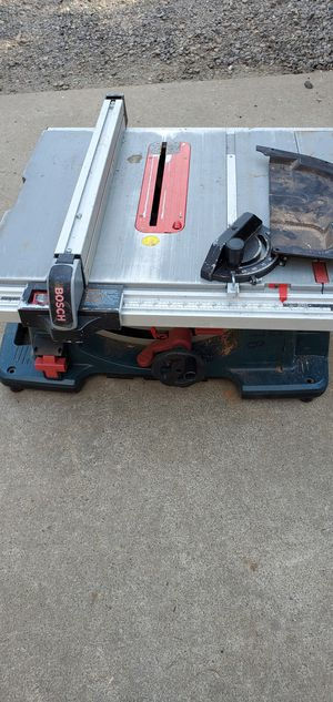 Bosch table saw for Sale in Portland, OR