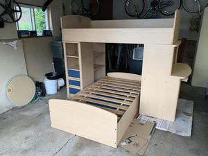 Bunk beds with desk and storage space for Sale in Lake Zurich, IL