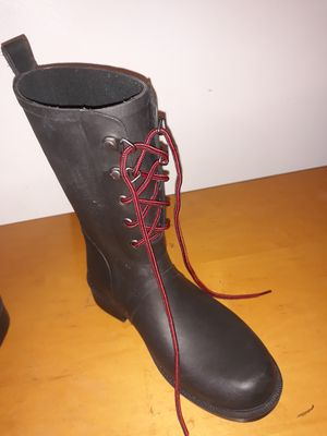 Rain Boots Black Size 7 for Sale in Glyndon, MD