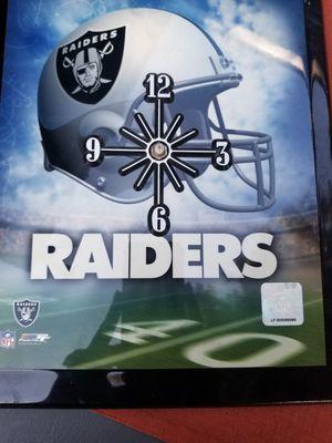 Raiders clock for Sale in Corona, CA