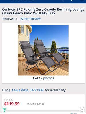 Patio folding chair for Sale in Chula Vista, CA