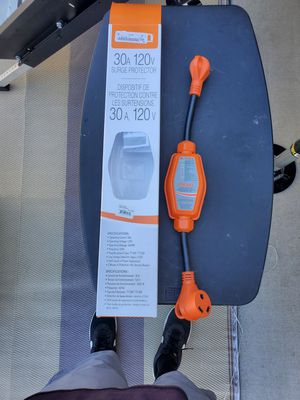 Surge protector for rv travel trailer 30 amp for Sale in Stockton, CA