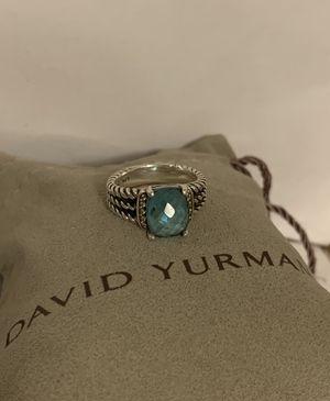 David Yurman Blue Topaz Ring for Sale in San Diego, CA