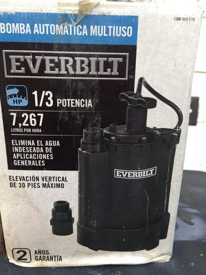 New water pump- submersible -1/3 hp for Sale in Detroit, MI
