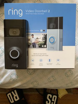 RING VIDEO DOORBELL 2 ( WIRE FREE ) for Sale in Cleveland, OH