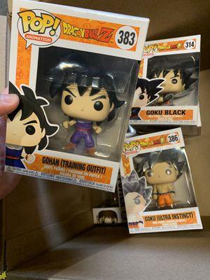 Dragon Ball Z Funko Pops for Sale in Puyallup, WA