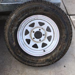 Trailer Wheel Boat Spare for Sale in Mesa, AZ