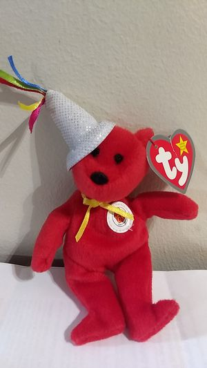 25 year Happy meal bear beanie baby for Sale in Youngstown, OH