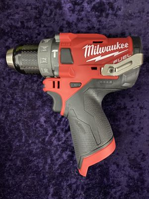 💥🧰🛠NEW CONDITION Milwaukee 12V Fuel brushless Hammer Drill(Tool Only) $70 each this weekend💥🧰🛠 for Sale in Irving, TX