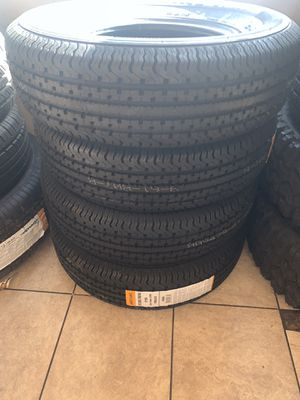 4 TRAILER TIRES 2057514 for Sale in Las Vegas, NV