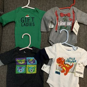 Newborn Boys Onesies, 2-piece Outfits, Pants And Sweaters for Sale in Tacoma, WA