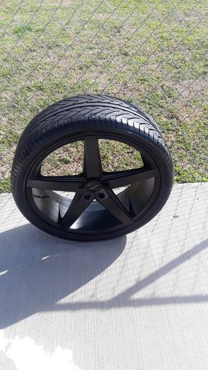 "22""rosco tires &rims for Sale in Lincoln, AL"
