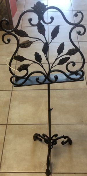 Metal music stand for Sale in Lawrenceville, GA