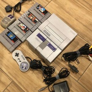 Super Nintendo SNES Console + Games for Sale in Gilbert, AZ