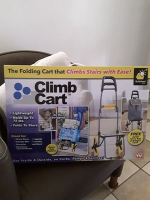 Folding Cart Light Weight. New in box. $10 for Sale in San Antonio, TX
