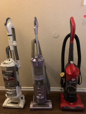 Dirt devil and shark vacuums for Sale in San Antonio, TX
