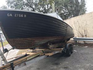 1950's century all teak boat for Sale in Savannah, GA
