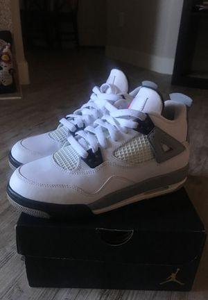 "Jordan 4 ""white cement"" size 5 for Sale in Las Vegas, NV"
