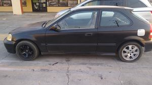1999 Honda civic hatchback dx for Sale in Palmdale, CA