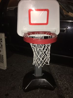 Adjustable basketball hoop LNEW only 20 Firm for Sale in Baltimore, MD
