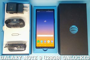Galaxy Note 9 (128GB) Factory-UNLOCKED (Like-New) for Sale in Arlington, VA