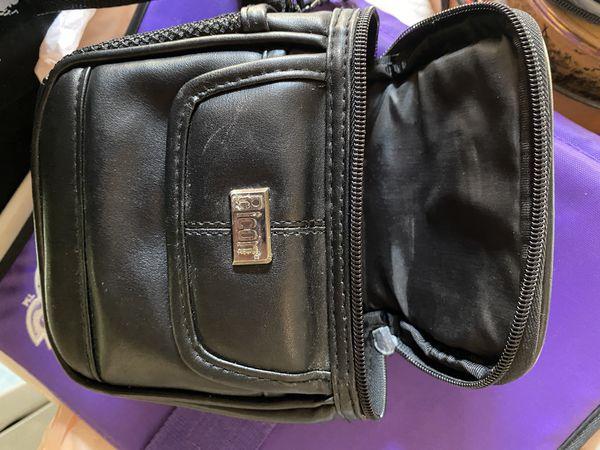 ICON Photography / Camera Case Black Leather