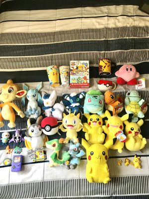 Pokemon Plush Dolls & Collectibles Bundle for Sale in Hartford, CT
