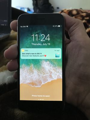 IPhone 6 64GB ICloud Factory Unlocked Like New for Sale in Fairfax, VA