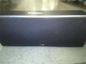 Polk Audio center speaker for Sale in Fresno, CA