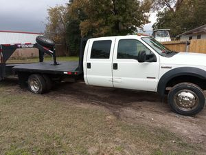 2006 Ford f450 12' flatbed for Sale in Houston, TX