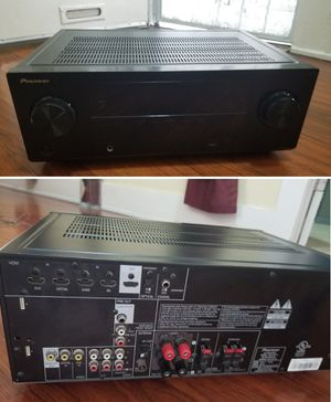 Pioneer hdmi 5.1ch stereo receiver amplifier for home speakers for Sale in Long Beach, CA