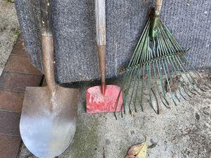 Rake shovel edger for Sale in Artesia, CA