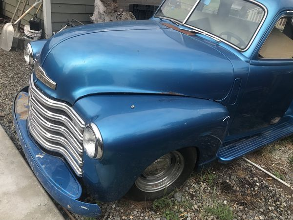 1949 Chevy project