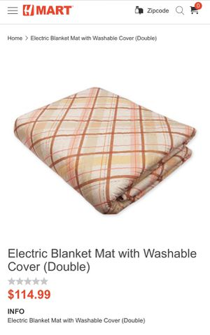 Electric blanket mat for Sale in Pittsburgh, PA
