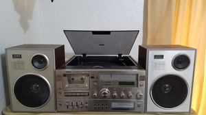 Record player/ cassette/ 8 track stereo system for Sale in Merced, CA