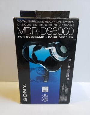 Sony MDR-DS6000 Headphones Wireless Surround Digital for Sale in Adelphi, MD