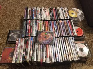 DVDs lot of 90 and 20 cds for Sale in Newark, OH