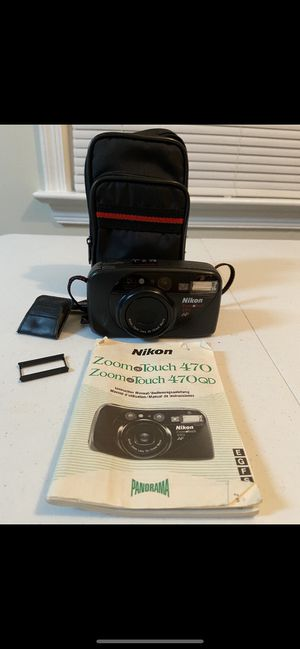 Vintage Nikon 35 mm with panoramic adapter for Sale in Alexandria, VA