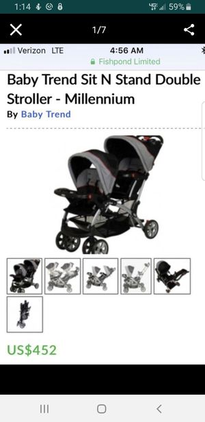 Double stroller for Sale in Beverly Hills, CA