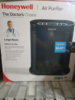 Honeywell HPA201TGT True HEPA Air Purifier Black Brand new Retail Price: $204.99+tax for Sale in Houston, TX