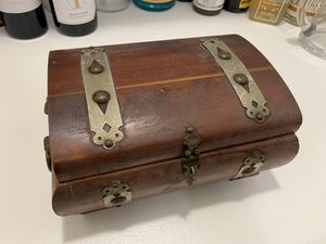 Antique jewelry/valuables box with mirror! for Sale in Los Angeles, CA