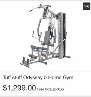Tuff Stuff Odyssey 5 Home Gym for Sale in Jarrettsville, MD