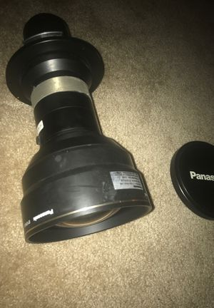 Panasonic fixed projector lense for Sale in Rockville, MD