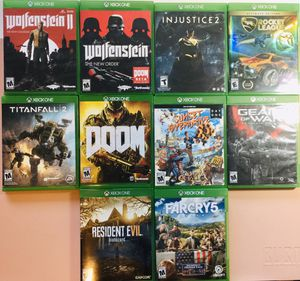 ***MINT CONDITION XBOX ONE GAMES*** for Sale in Walnut Creek, CA