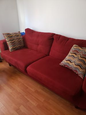 Red sofa for Sale in Jersey City, NJ