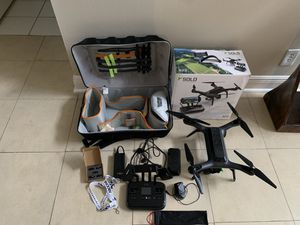 3dr Solo drone with all accessories and case for Sale in Boca Raton, FL
