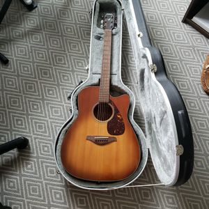 Yamaha Fgx700sc Acoustic Electric Guitar for Sale in Austin, TX