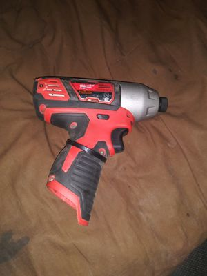Milwaukee 12v Impact Drill Cordless for Sale in Midland, TX